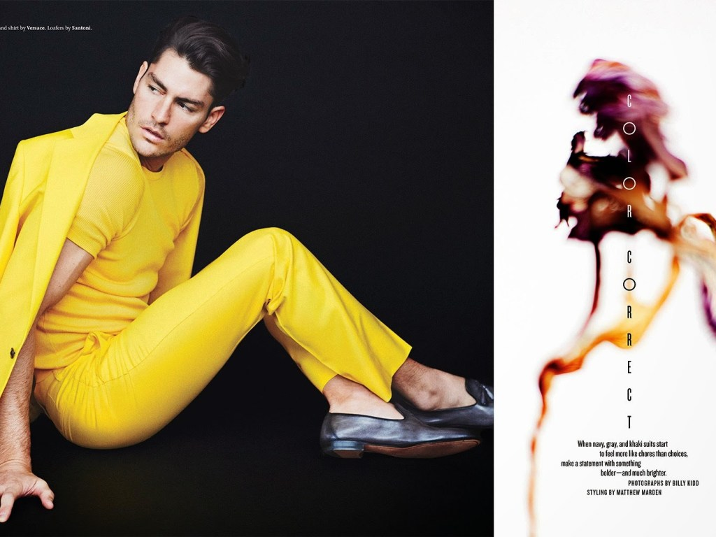 Noah Mills and Tyson Ballou starring the new fashion editorial for Details Magazine March 2015, shot by Billy Kidd and styled by Matthew Marden.