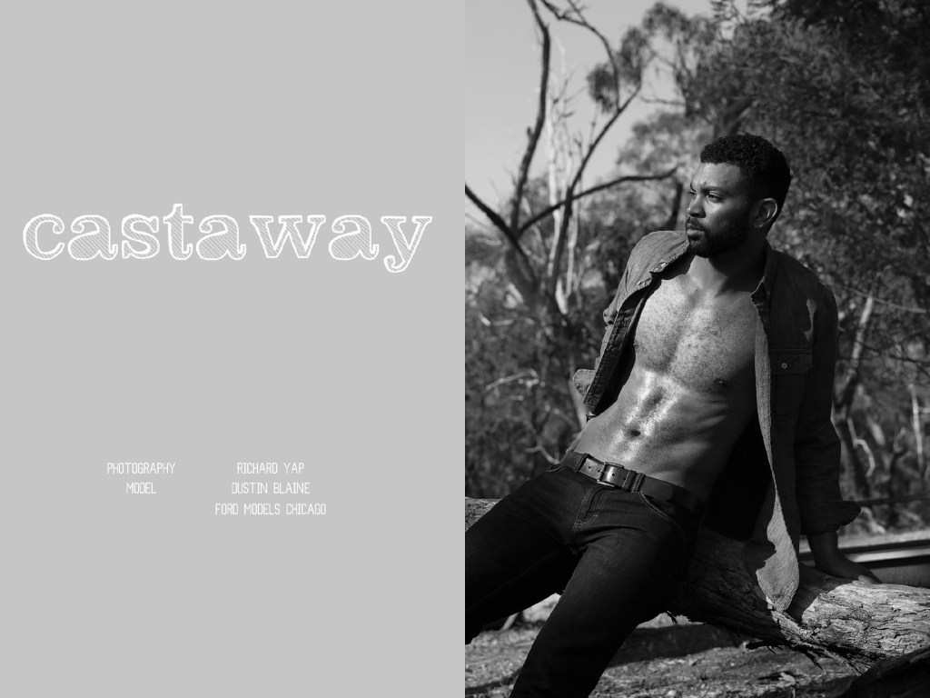 Dominus Magazine presents Dustin Blaine from Ford Models Chicago shot by Richard Yap.