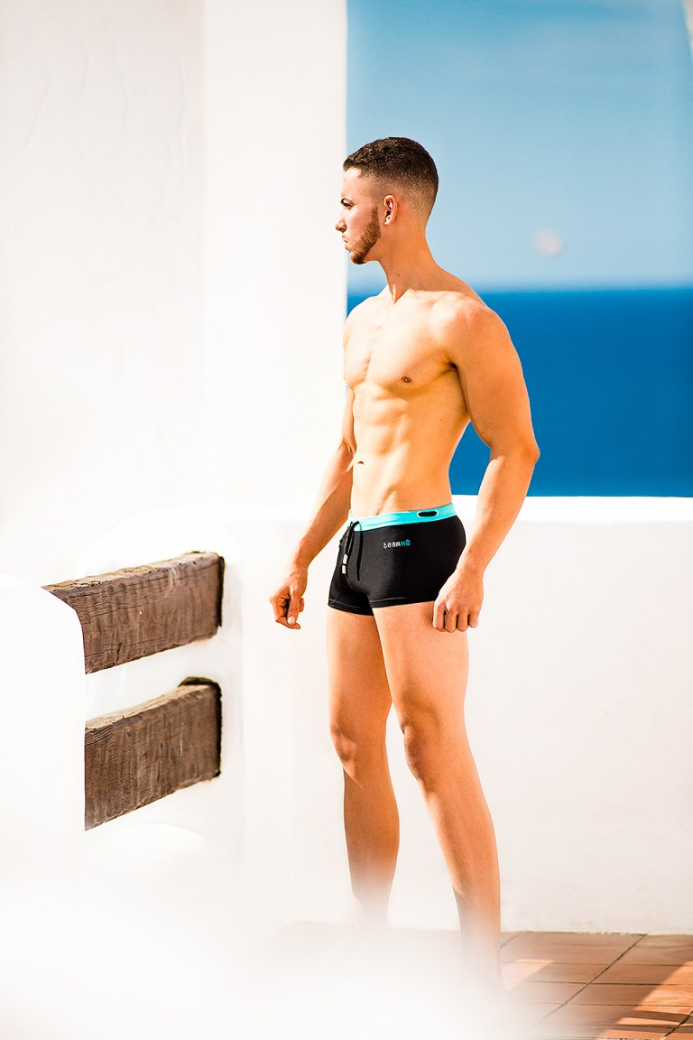Alejandro Granados is 23 years old and he's fitness instructor but also he's a fitness model, now he's charming our screens wearing Australia's Teamm8 Underwear and Swimwear.