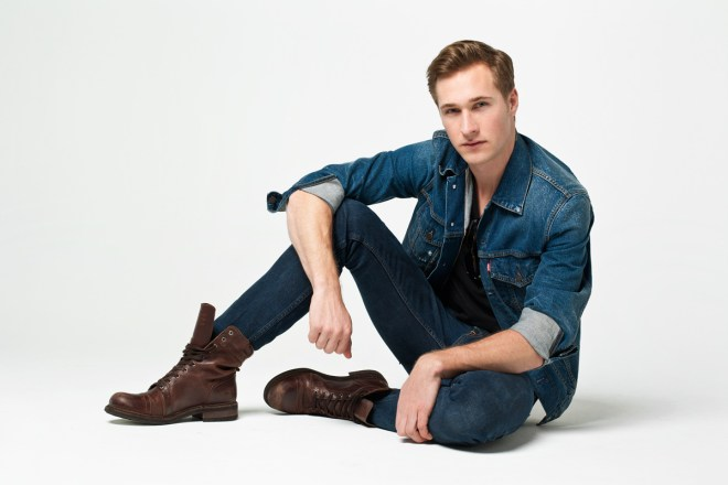 Presenting model with class look, his name is Trevor Carstens, he is from  TCM Models, Scout Models and with Images Mgnt. Shot by JONO Photography. Art Directed by James Loy and assisted by Adela Montez.