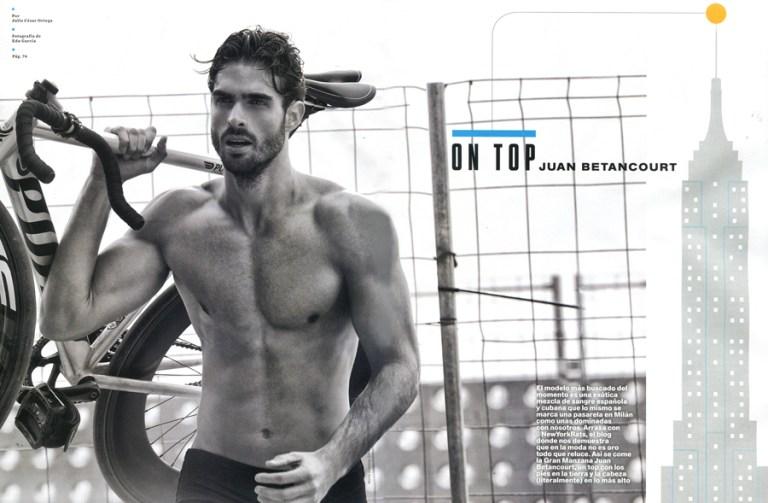 Juan Betancourt for Men's Health Spain