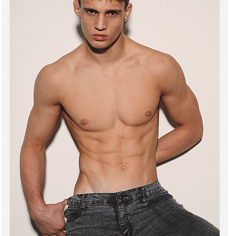 Austrian stunner Julian Schneyder gets a splendid digital portraits coming from his agency ' New Madison'.