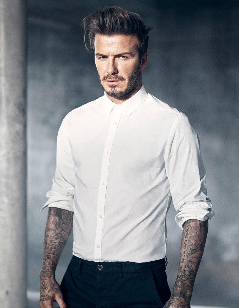 """For Spring 2015, David Beckham has chosen his favourite menswear pieces from the Modern Essentials collection at H&M, to create Modern Essentials selected by David Beckham. This new collaboration is a natural evolution of David's relationship with H&M, following the unprecedented success of David Beckham Bodywear. The collaboration is celebrated with a campaign shot by the famous film director Marc Forster. """"I am thrilled to continue and extend my collaboration with H&M by selecting my favourite pieces from this spring's Modern Essentials collection. Each piece is a new wardrobe classic that will update every man's spring wardrobe with great style. Marc Forster is one of my favourite directors – I can't wait to reveal the new campaign with H&M."""" – says David Beckham. Modern Essentials selected by David Beckham focuses on the important key pieces of the season, each updating a men's classic in fresh fabrics, colours and fits for spring 2015. Key pieces include a linen bomber jacket; a white chalk-washed denim jacket; a car coat; a sharp linen blazer; a city-slick polo shirt and the perfect poplin white shirt. Shop H&M """"Modern Essentials"""" collection HERE!"""