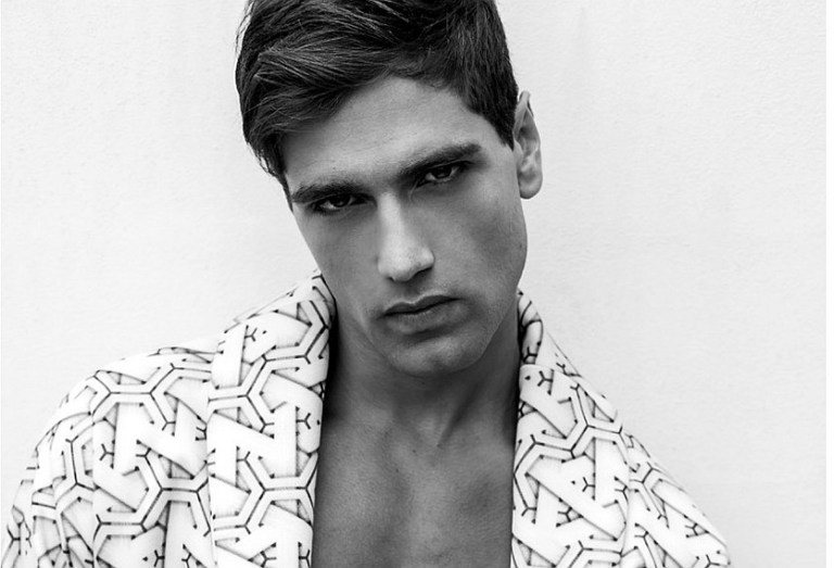 Italian model sensation Fabio Mancini gets a beautiful highlights snaps with another talented photographer Thiago Martini, styled by Adriano Rocco, Fabio is presented by D'Management, MUA by Max Araújo.