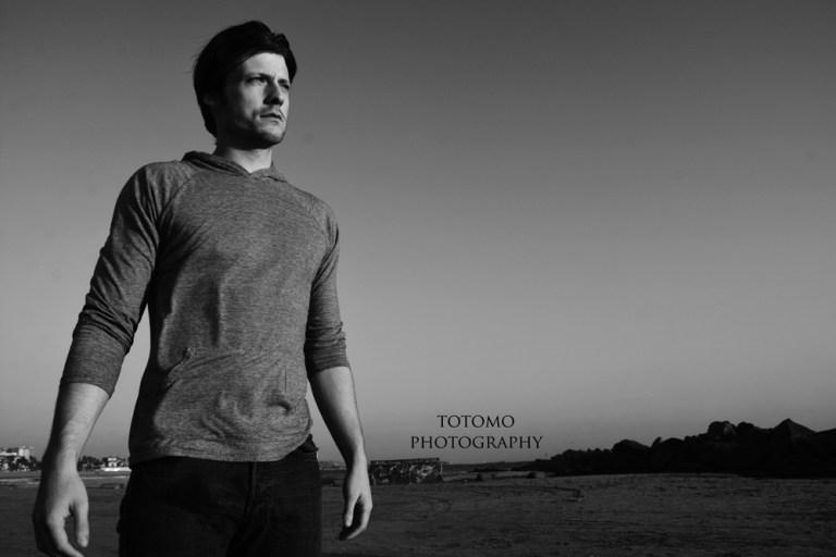 New portrait introducing male model Taylor Napier by Antonio Cudemo.