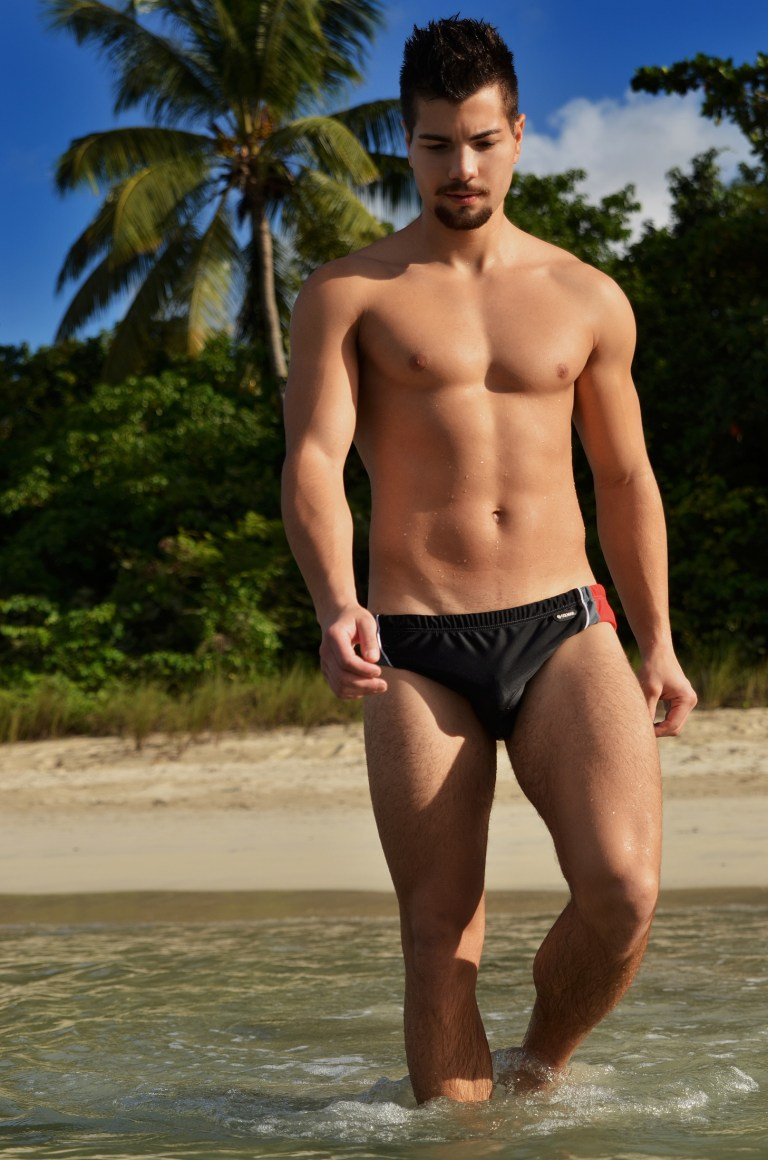 These are the photos that Mladen Blagojevic did with a Serbian model named Vladimir. These guys traveled to Megans Bay at Virgin Islands in The Caribbean. This beach has been voted as one of top 10 beaches in the world :) Great location with a beautiful model.