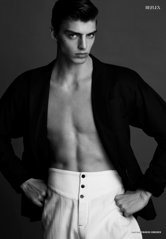 """""""Highlights Part 2"""" is starring by Daan Van Der Deen for Reflex Homme shot by Anthony Batista , styled by Giorgio Ammirabile, art direction by Paul Lamb, grooming by Eloise Cheung. Supermodel signed by Soul Artist Management."""