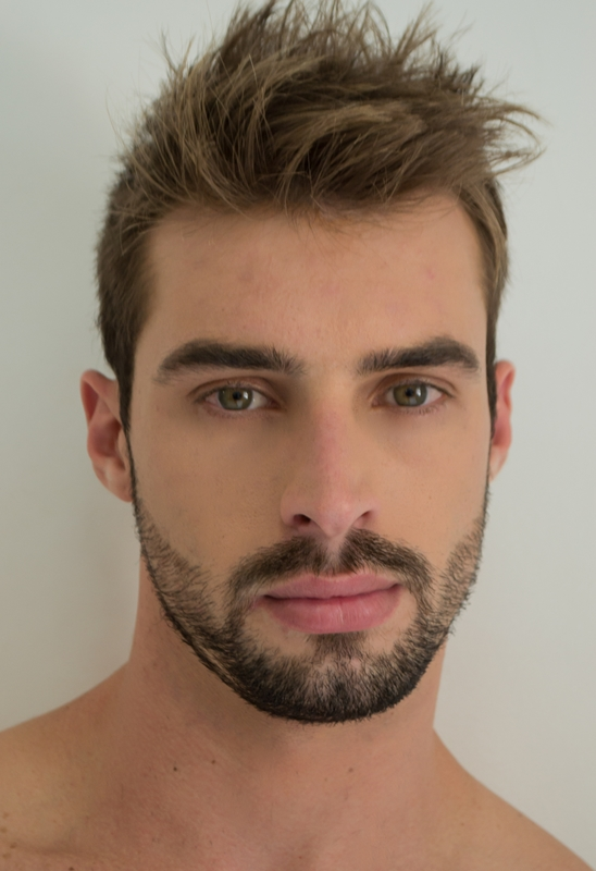 Brazilian Tv Host Jean Diego Visconti test shot by Beto Urbano, produced by Petrone.