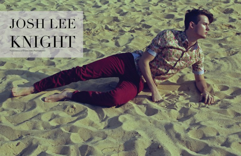 Men Moments presents another editorial with male model Josh Lee Knight shot by Ethan James Photography.