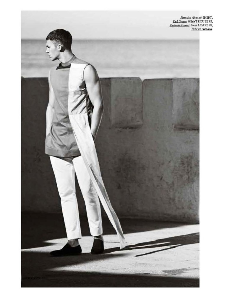 Models Alessio Pozzi and Arran Sly stars the new fashion editorial for Hercules Universal Spring/Summer 2015 photographed by Daniel Riera, styled by Francesco Sourigues.