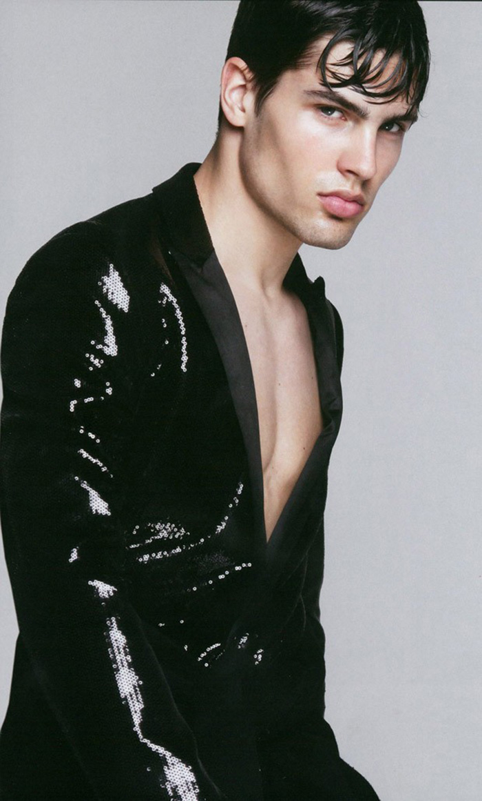 Supermodel Miroslav Cech posing flawless for One Magazine, photography by Lukas Kimlicka.