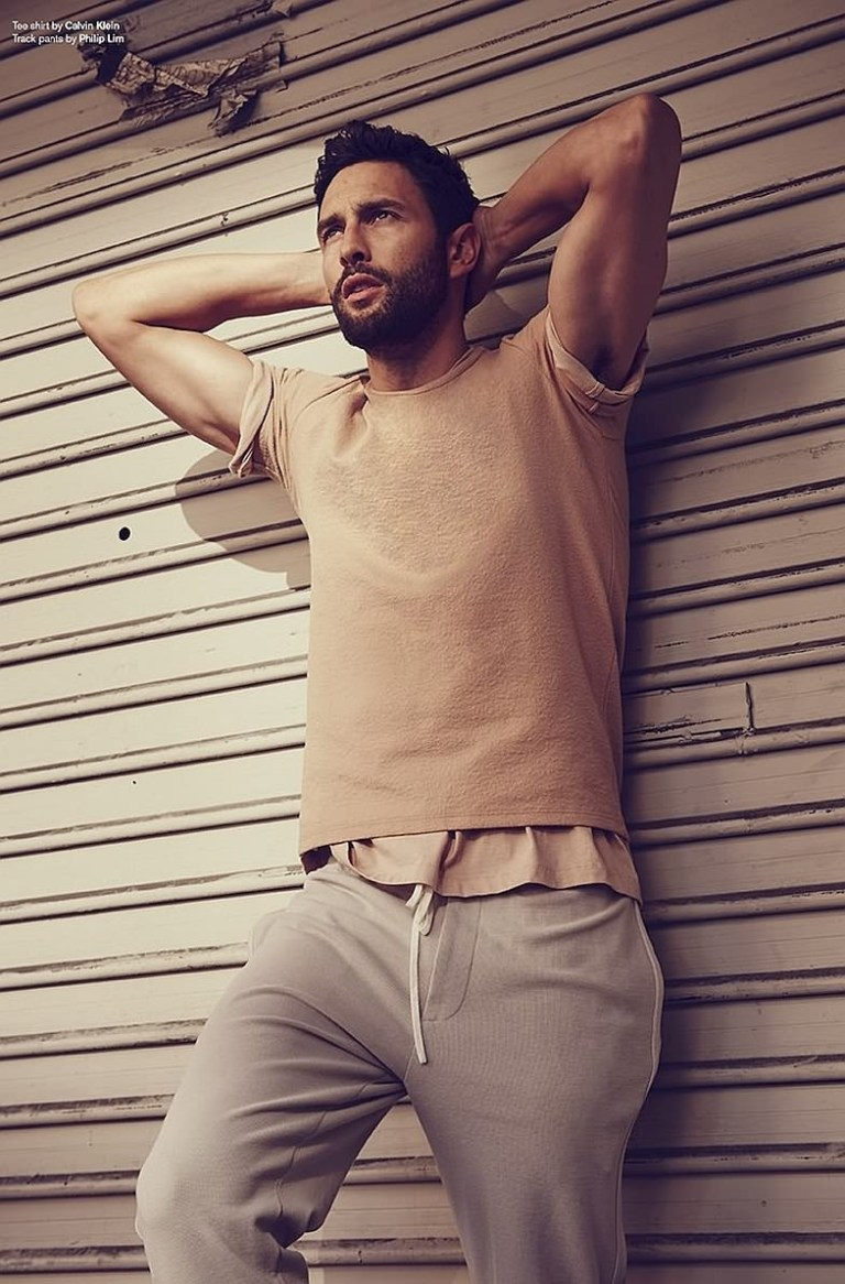 Noah Mills in a sporty ed with pictures by Beau Grealy for Associated NYC Spring 2015. Check it out!