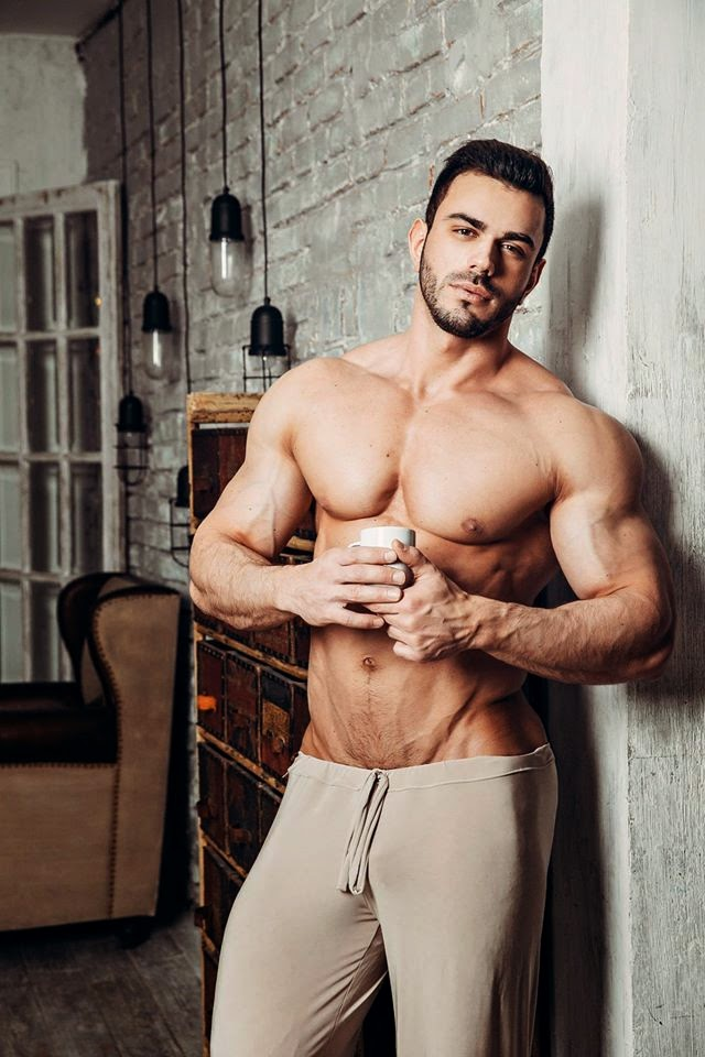 Ravishing Russian personal trainer, Stepan Pereverzev, shows off his stunning physique with a recent portrait session beautifully captured Pavel Lepikhin.