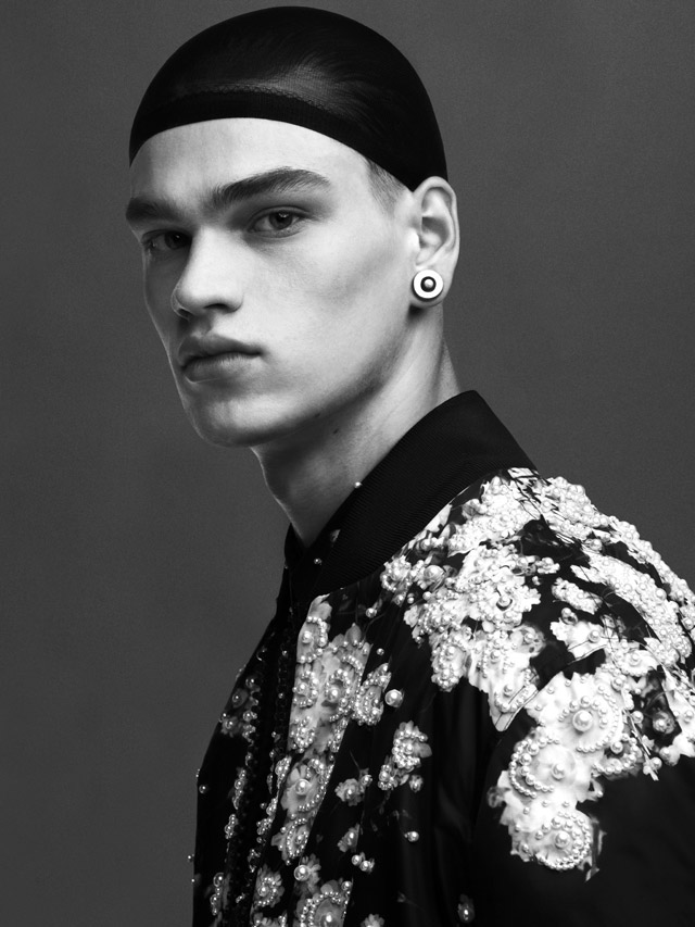 Alessio Pozzi, Dominik Bauer, Filip Hrivnak, Paolo Roldan and Paolo Roldan photographed by Danko Steiner and styled by Ana Steiner, for the latest issue of Manuscript magazine.