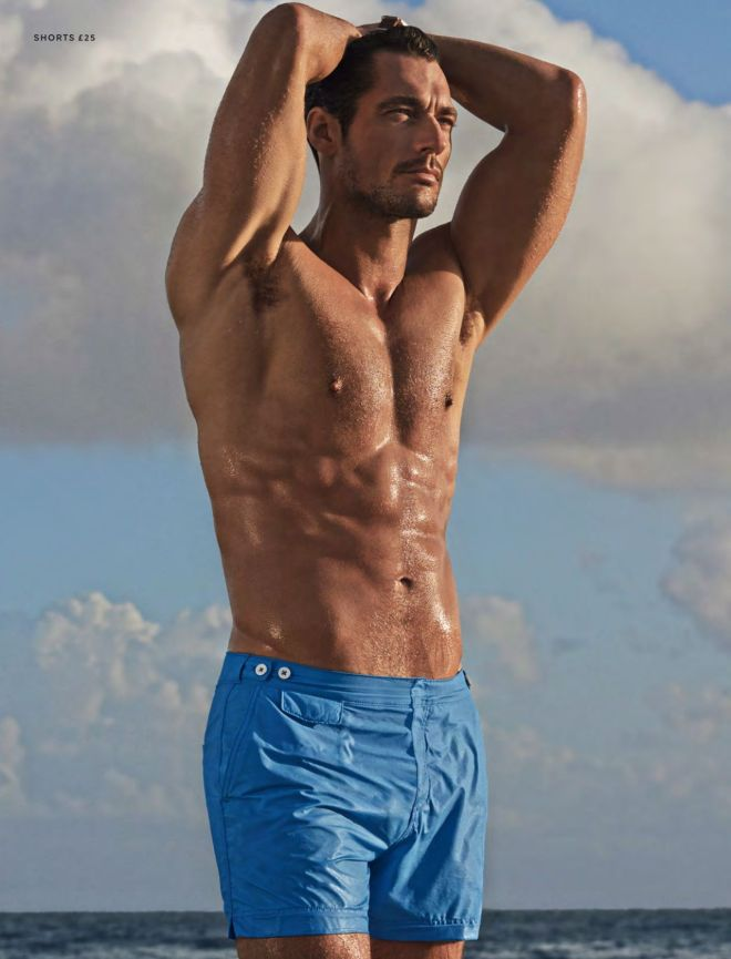 David Gandy Swimwear for Autograph Marks & Spencer