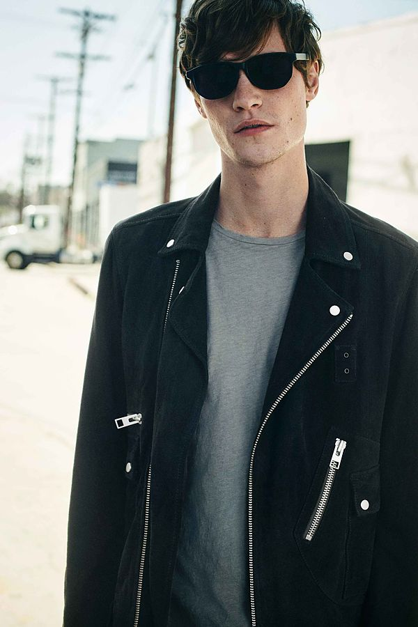 Every month All Saints released new arrivals for men's May Lookbook modeling Matthew Hitt this time, we appreciate jackets, cool floral printed tees, denim jacket, basic shirts, you'd better check out at here.