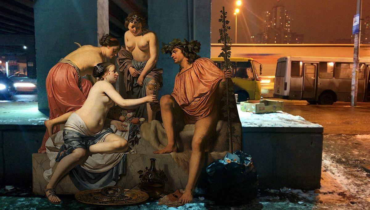 Classical Art takes the City: Artworks by Alexey Kondakov