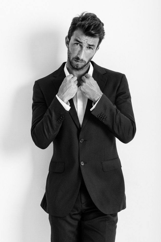 Amazed by the looks of Brazilian male model Daniel Crisanti from DN Models Agency shot by Magno Bottler at Florianópolis