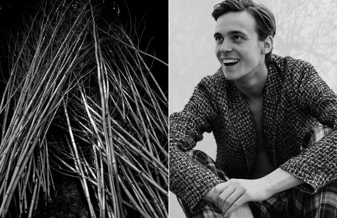 Gustaaf Wassink at M Management Men photographed by Maud Maillard in this weeks editorial 'Walking On Air'. Styled by Glen Mban.
