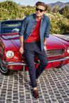 RJ King modeling the new Tommy Hilfiger Spring/Summer 2015 Lookbook.