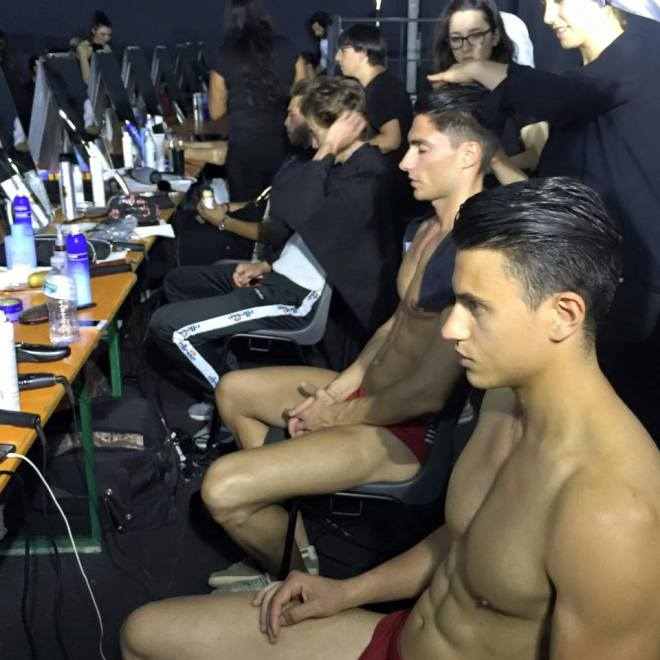 The human bodies are ready too for #DirkFashionShow Enjoy the live of the opening show of the #MilanFashionWeek ▶ http://bit.ly/DB_FashionShow