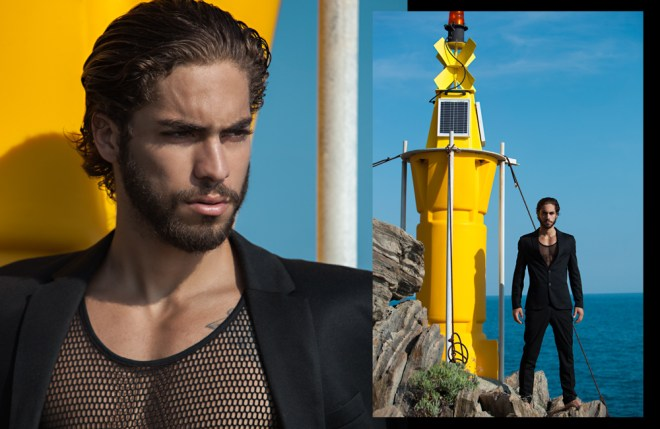 Featuring new Brazilian male model Pedro the new muse by photographer Alexis Dela Cruz.