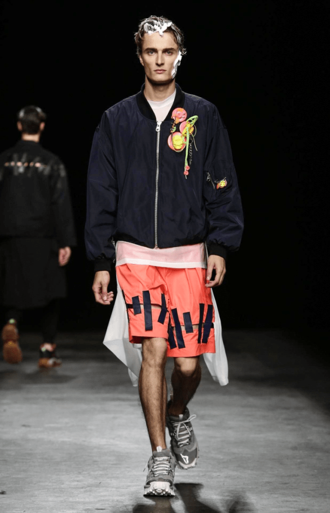 Christopher Shannon Menswear Spring 201612