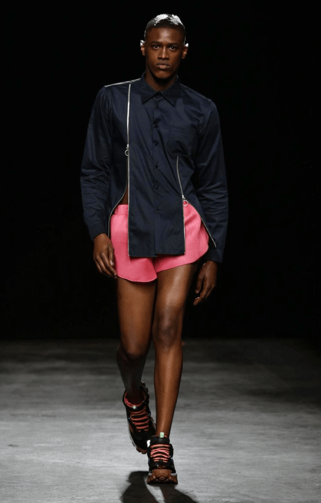 Christopher Shannon Menswear Spring 201698