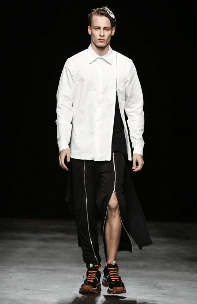 Christopher Shannon Menswear Spring 201699