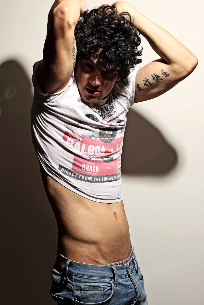 Presenting in an exclusive for Fashionably Male we have  bombshell David Peraza snapped by Karim Konrad.