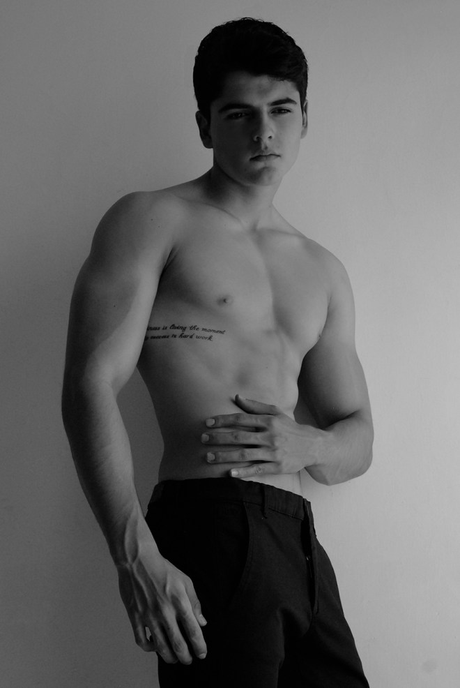 He's Edgar by Soqui a new fresh Mexican model represented by MMRunway Models