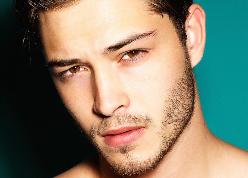 Dimitris Theocharis is a one true respectful fashion photographer here's portraying Top model Francisco Lachowski.