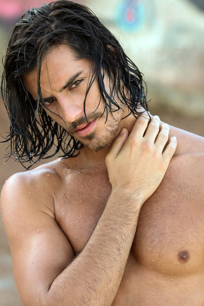 Incredible new images by photographer Marcio Farias with sexy Brazilian Juan Biolchini from 40 Graus Models. Beauty by Karina Aletoo, Production by Alex Mallet. Assisted by Daniel Nogueira.