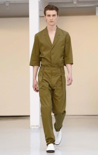 Lemaire Menswear Spring Summer 2016 PARIS015
