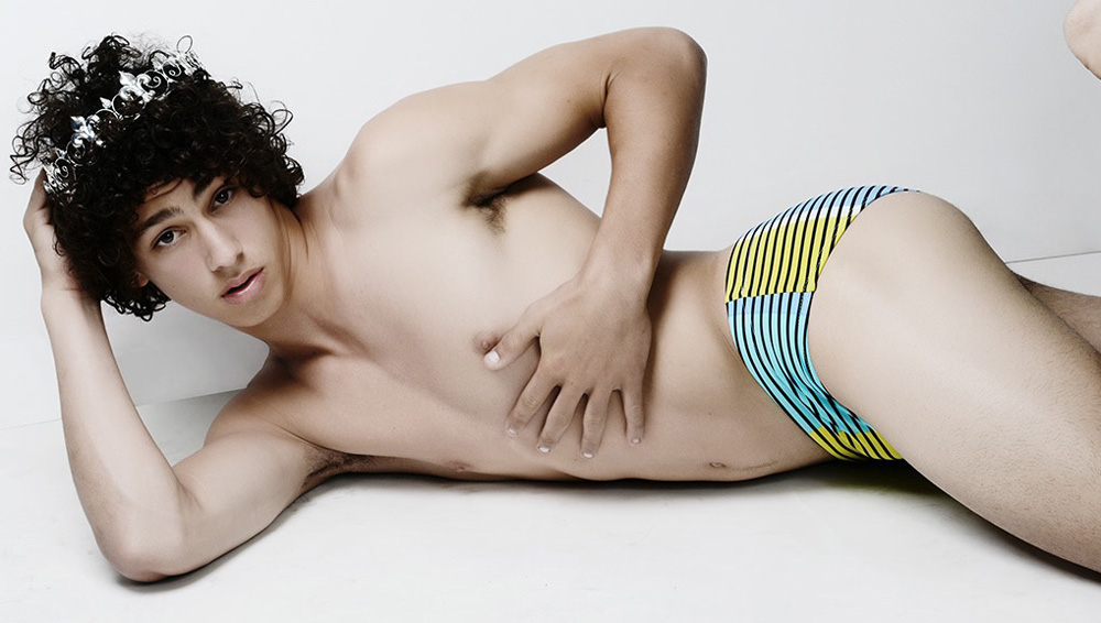 Starting this Israeli summer with the new swimwear and clothing collection, the new face for MONAMI BY AMISANZURI is the young prince charming Barak Shamir (Passion Management) Photo by the talented Moshe A ZILUM1.COM Styling by Efrat Brand Hair by Yuki Sharoni.