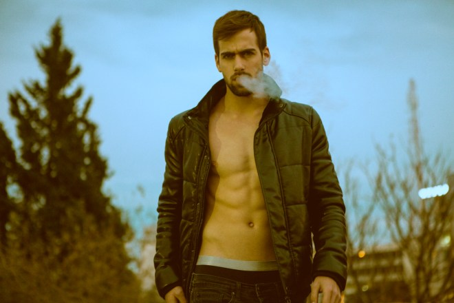 Exposing new work photographer Nir Slakman featuring new face Israeli model Yotam Shwartz (for Elinor Shahar PM).