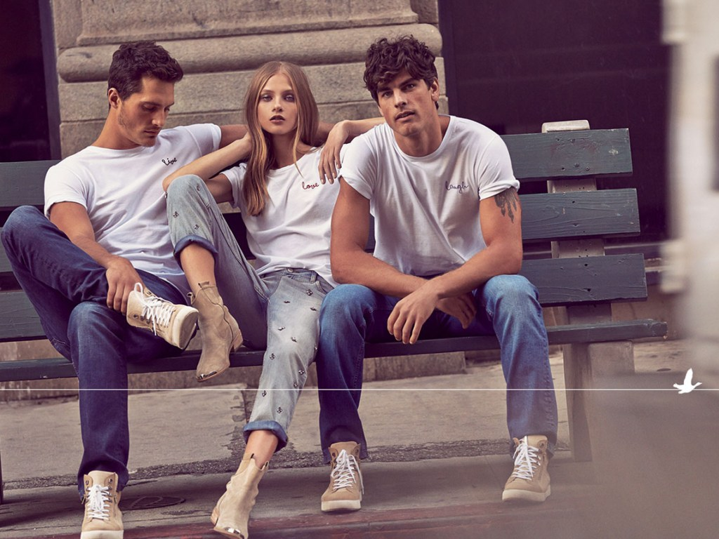 Supermodels Adam Senn, Anna Selezneva, Evandro Soldati and Ollie Edwards starring the new promotional pictures for Beymen Club Spring/Summer 2015 Fashion Campaign.