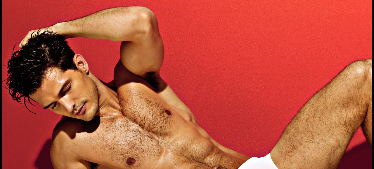 New promotional ad shots with stunner male model Diego Miguel for Charlie by MZ.