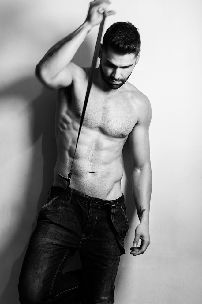 The exquisite Humberto Márquez stops by the studio of Abel Anaya for a breathtaking portrait series exclusive for Fashionably Male, Humberto is looking manly, charming and he's representing by Bang! Management at Mexico City.