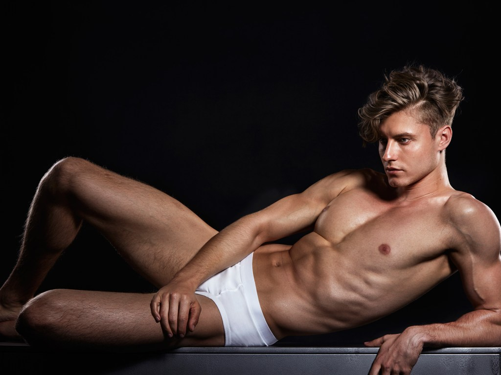 Stunning photographer by Kiet Thai with male model Konstantin Vasiliev from Adam Models.