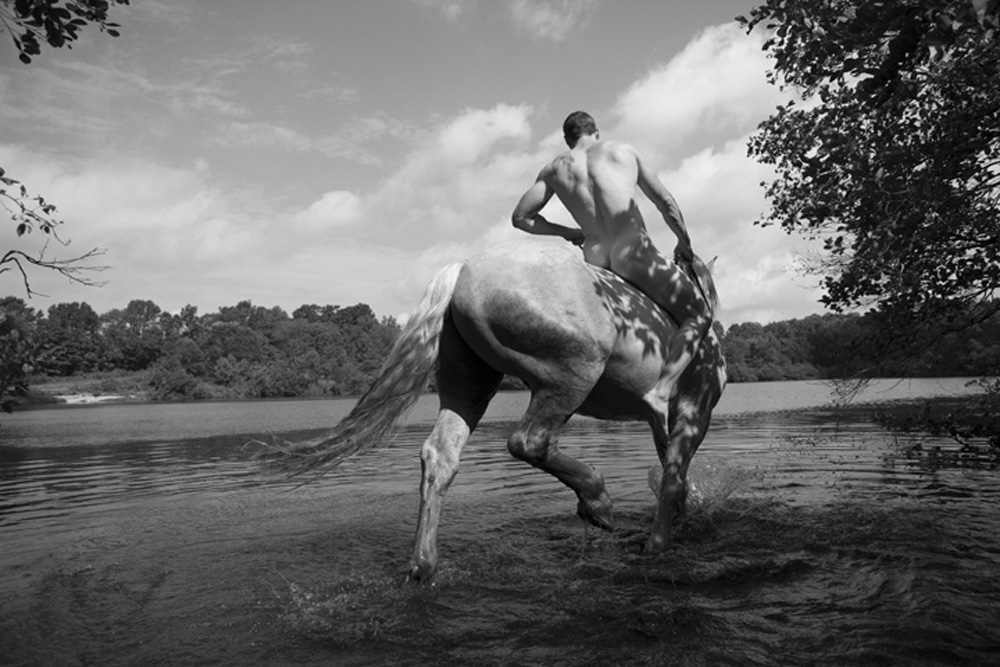 Nick Turner's evocative delineations of the classic form of the horse, its muscle and blood, skin and bone, are in the tradition of a long line of artists who manage to evoke the truly mysterious and noble qualities of the animal, a line that stretches from Susan Rothenberg, Joe Andoe, and George Stubbs to the unknown artists who decorated the walls of prehistoric European caves.