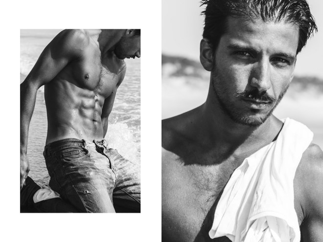 Tiago Lima at Karacter Models is giving us fresh new snaps by David Velez