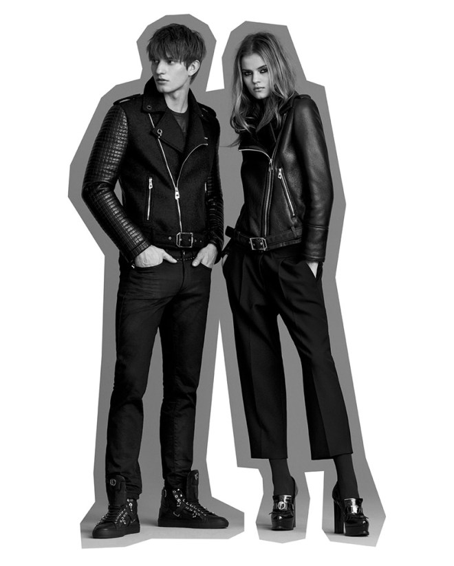 Versace unveiled its Versace Collection Fall/Winter 2015 lookbook, combining formal styling and fashion appeal.