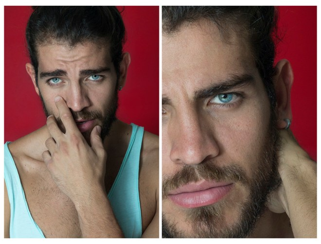 Featuring a beautiful stunning new face Alberto snapped by talented Luis De La Luz, Alberto is currently at New Icon Models, bearded face, long hair and fit body has all the required elements to hook up the scene.