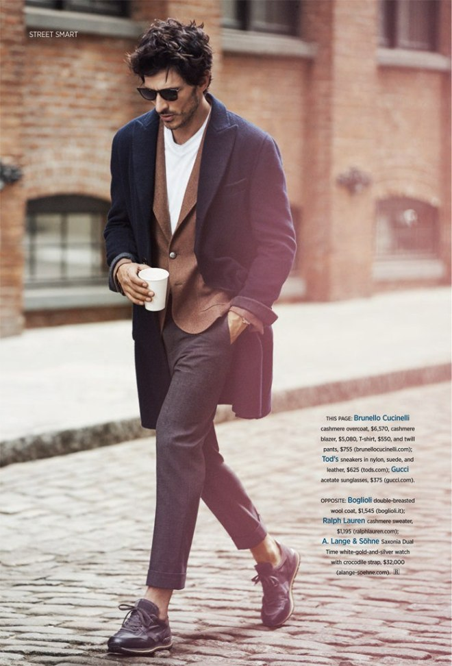 "Cover Rovv Report Magazine, Spanish male model Andrés Velencoso is posing in an amazing fashion editorial named ""Street Smart"", shot by Dean Isidro and styled by Christopher Campbell."