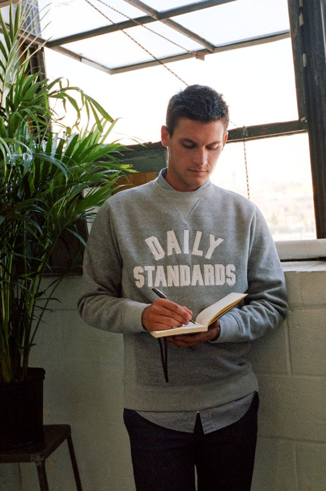 Daily Standards by Pull & Bear. Where quality designs, updated fittings and neat finish result in easy outfits for men's everyday challenges. Photography by Clement Pascal, Creative Director by Joao Moraes.