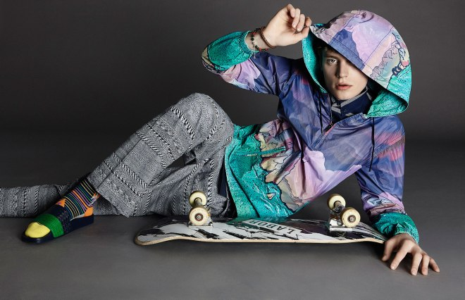 Sportswear International, Jul/Aug 2015 The Alter Skater Ph by David Needleman Styled by John Tan