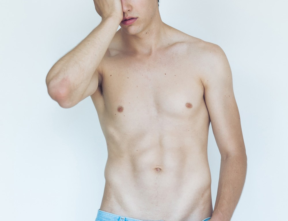 """Is Jesse Duval, 6'2 """", blue eyes and brown hair, he has a defined thin face and an enviable body, shot by Juan Neira, this time Jesse comes up really strong after his exclusive show for Calvin Klein in Milan. Jesse is a new face who came, saw and conquered. Look out for this guy!"""
