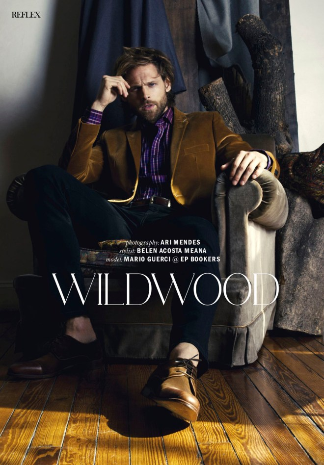 """Wildwood"" available for the new issue of Reflex Homme (July/August) male model Marcio Guerci from EPBookers is photographed by Ari Mendes and styled by Belen Acosta. This is a very nice issue, get to look at it."