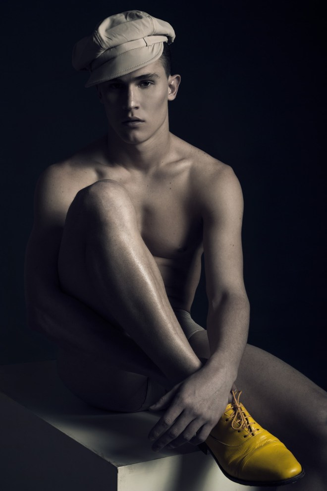Beauty portrait shot and styling by Jo Herrera, model Severiano Astrada from Universe Management and Look 1 Models. Hair and make up by Jose at Oquio Study.